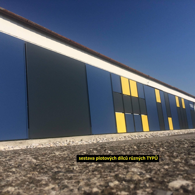 sestava plotových dílců