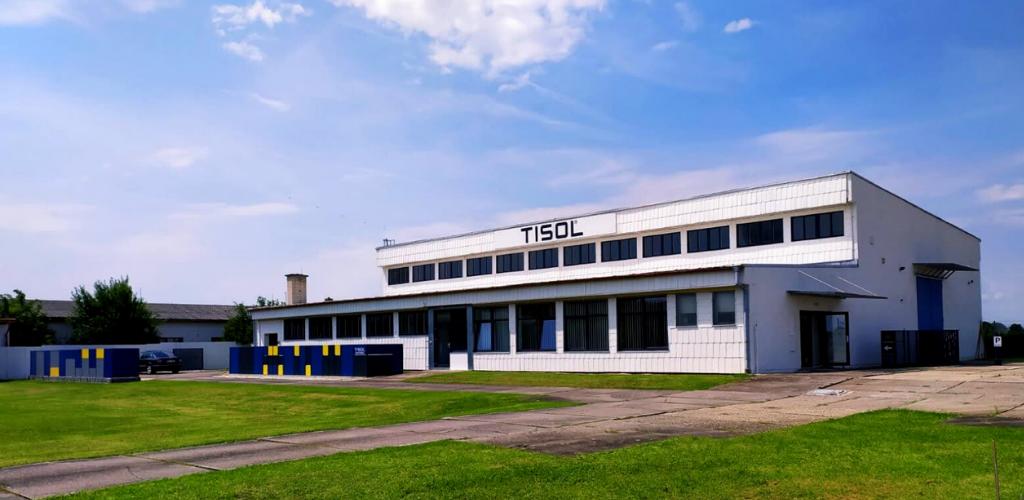 Sídlo firmy TISOL